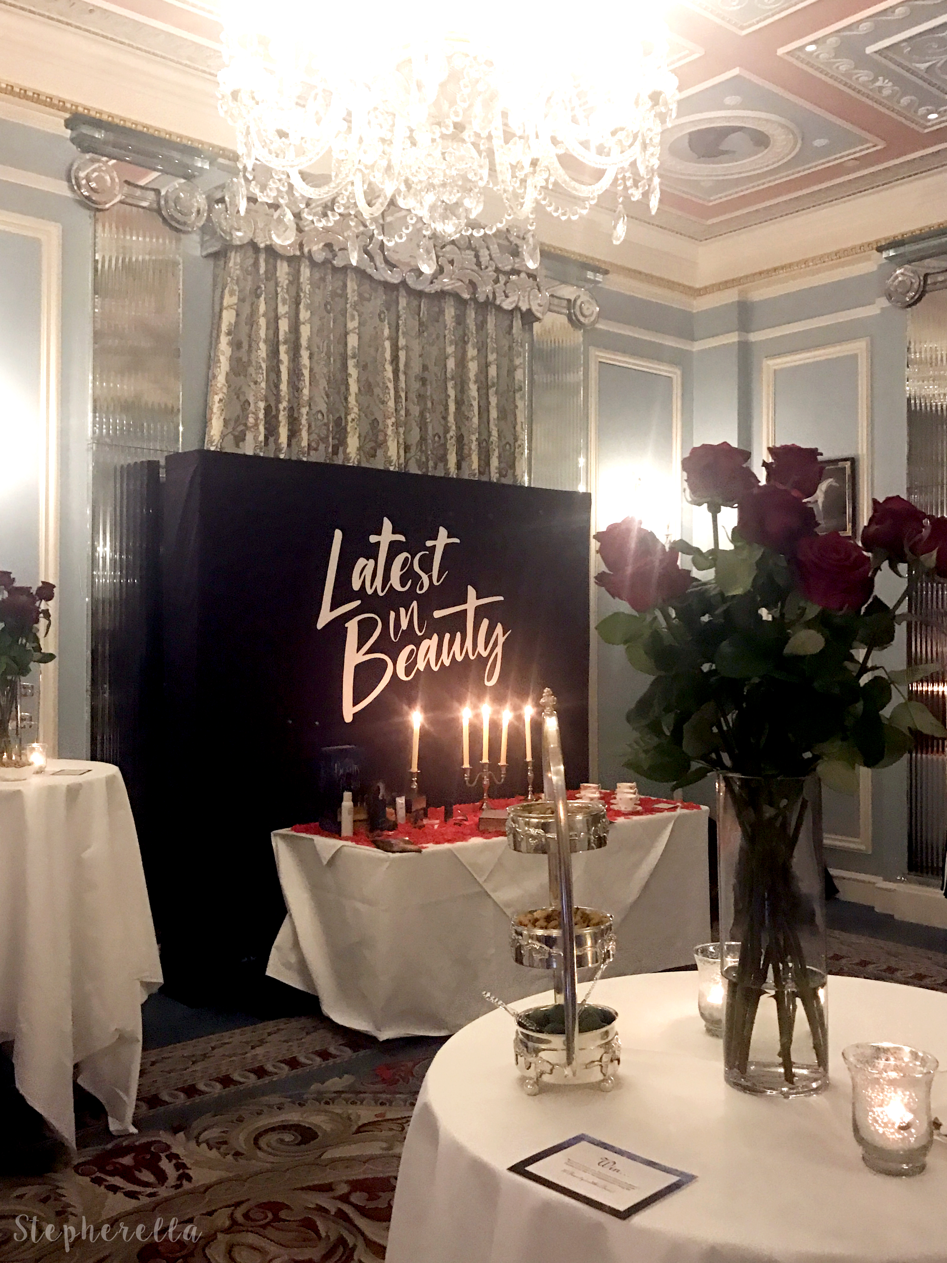 Latest In Beauty Beauty and The Beast Launch