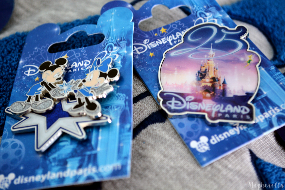 Disneyland-Paris-Haul-25th-Pins-Stepherella