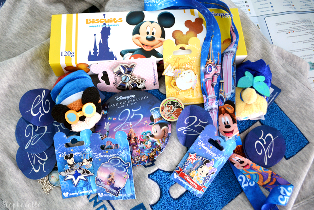 Disneyland Paris 25th Anniversary Haul
