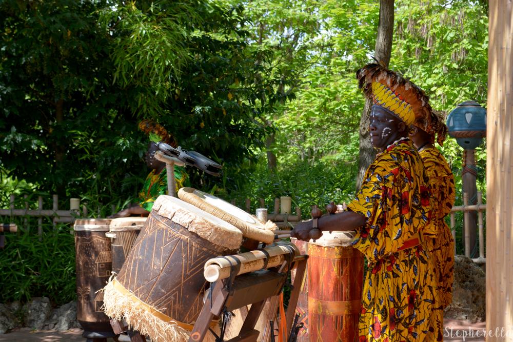 Hakuna Matata African Drummers Disneyland Paris Stepherella