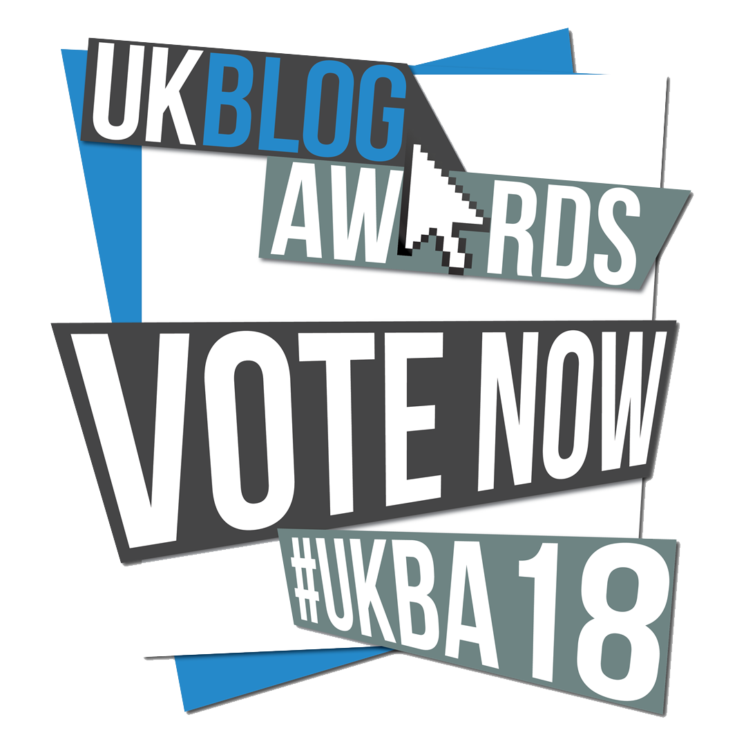 Entered In The UK Blog Awards 2018!