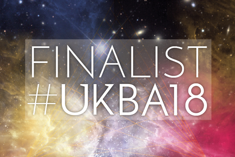 A Finalist In The UK Blog Awards 2018!