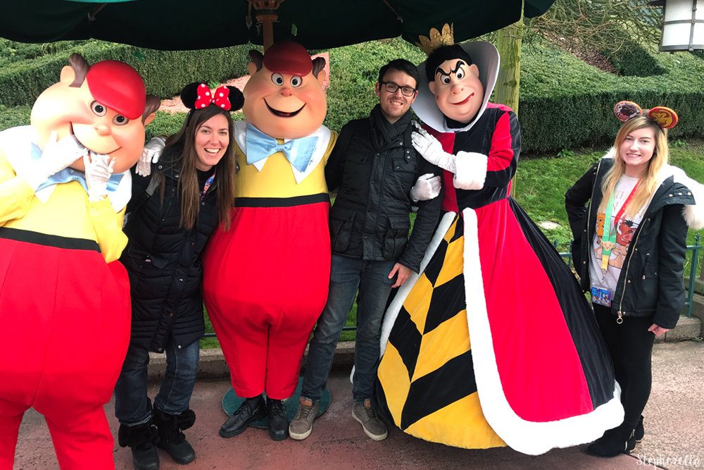Alice In Wonderland Disneyland Paris