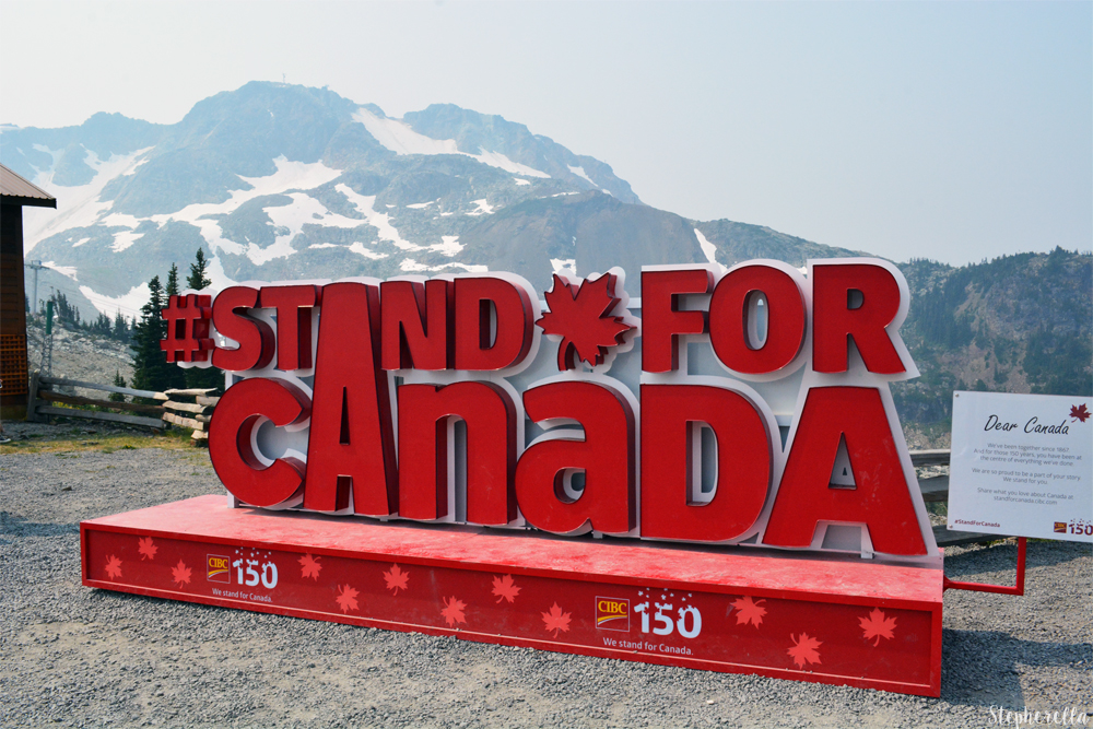 I Stand For Canada Whistler
