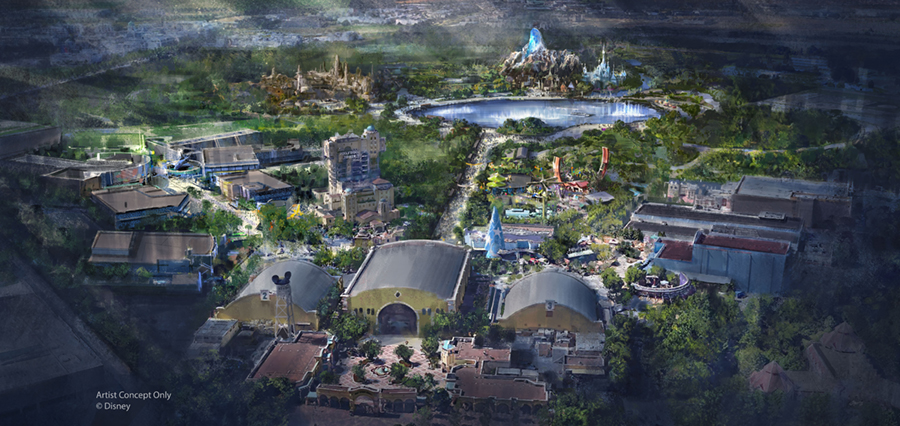 The Land of Frozen is Coming To Disneyland Paris' Walt Disney Studios