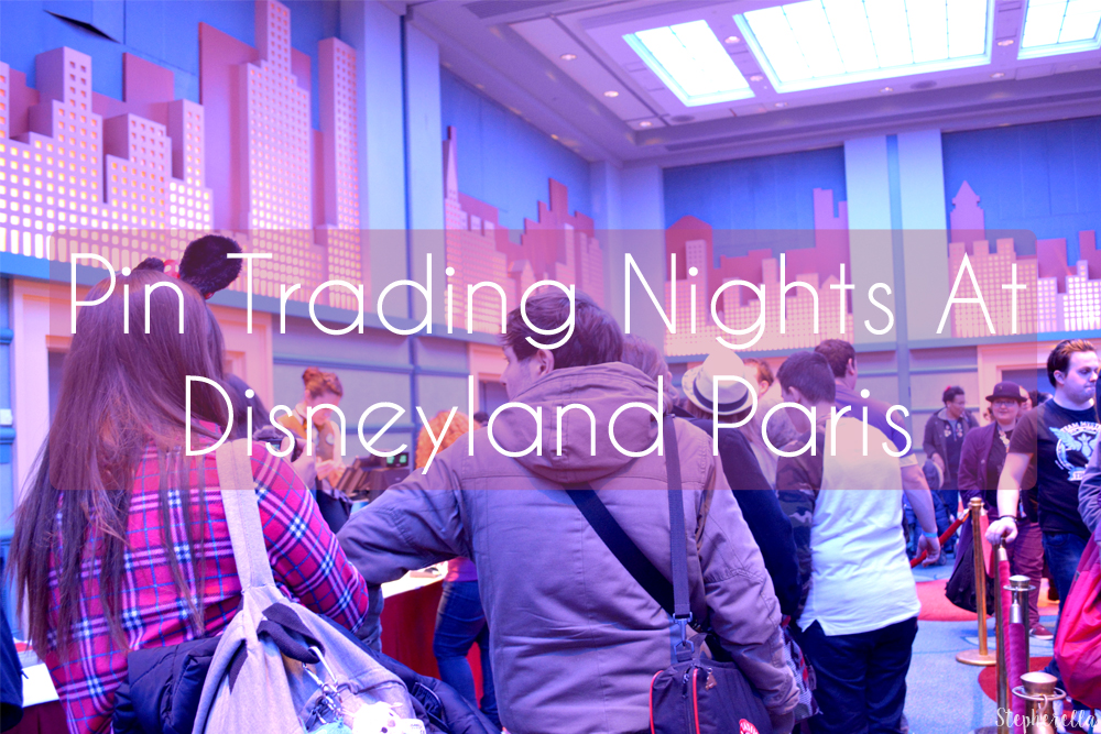 Pin Trading Event Hotel New York Disneyland Paris