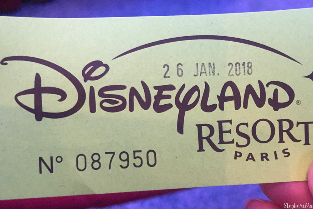 Pin Trading Ticket