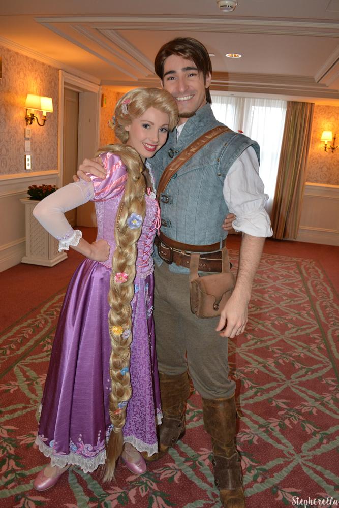Rapunzel and Flynn Disneyland Paris