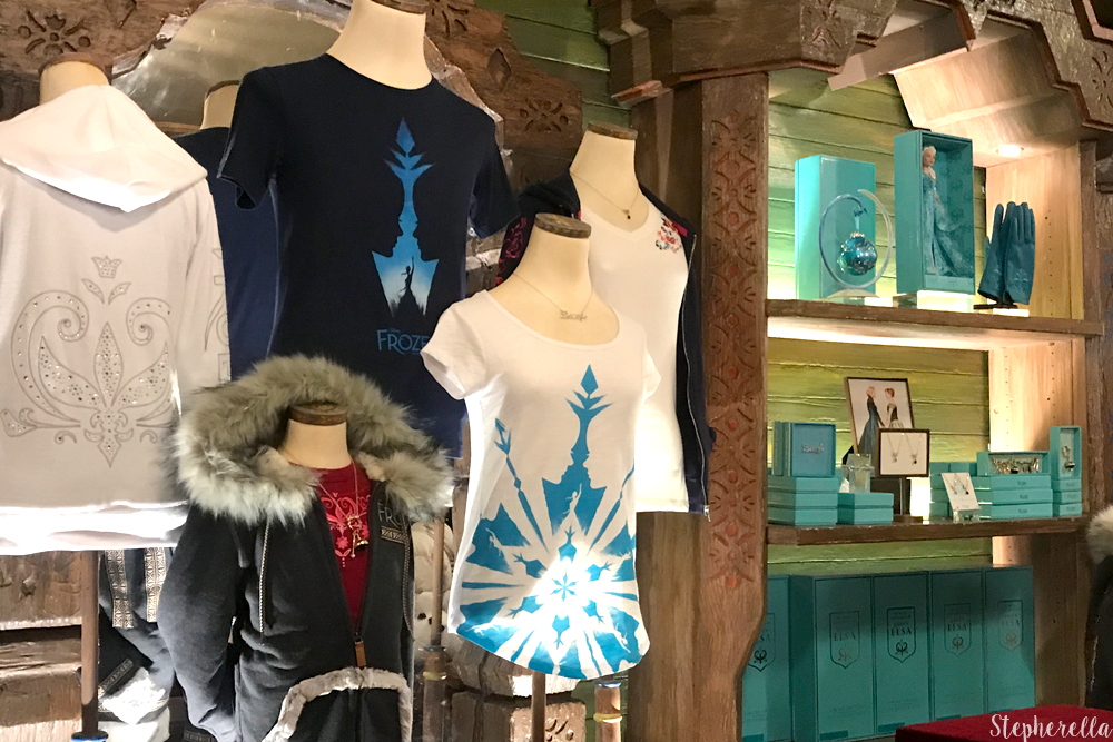 Frozen On Broadway Merch