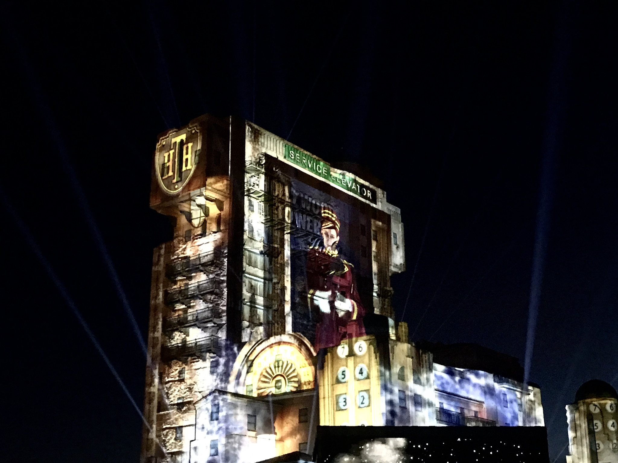 Tower Of Terror Annual Pass Night Disneyland Paris