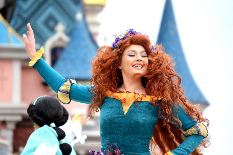 Merida Team Princess Disneyland Paris