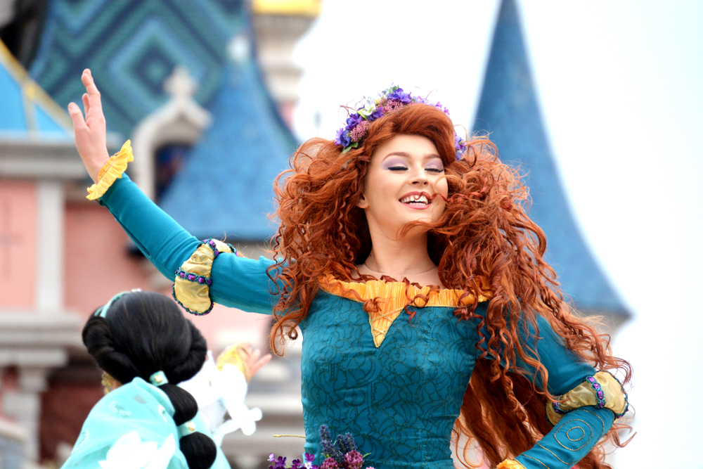 Merida Team Princess Disneyland Paris