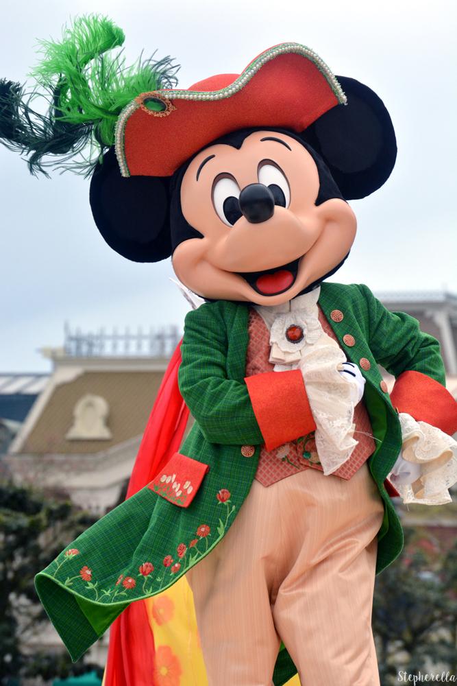 Mickey Mouse Team Princess Disneyland Paris - Stepherella