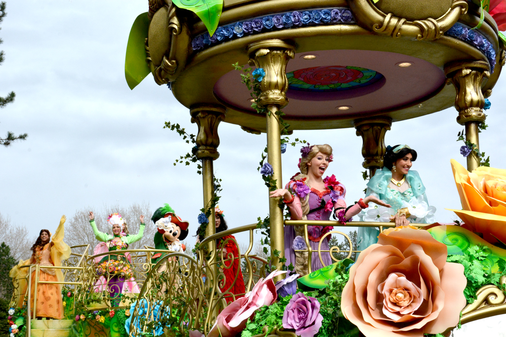 New Princess Float Disneyland Paris