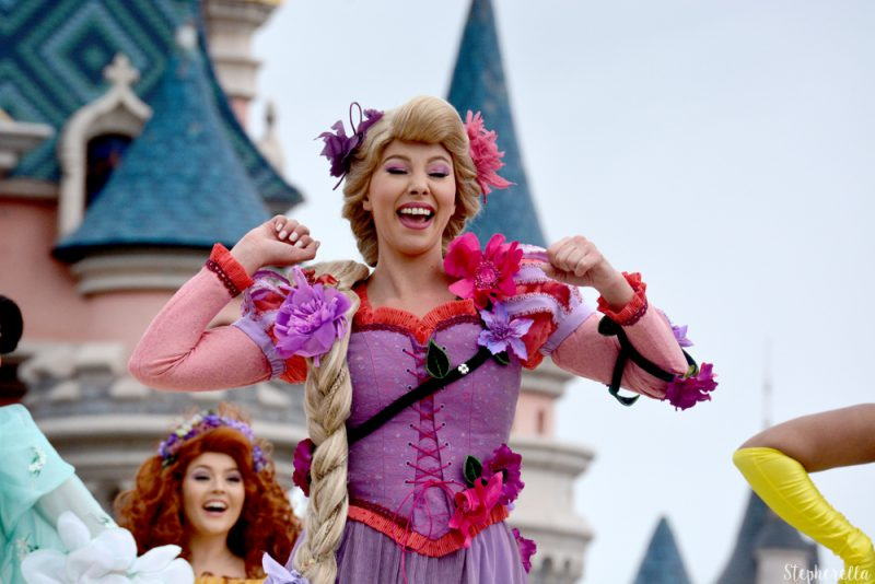 Pirates and Princess Festival Rapunzel Disneyland Paris