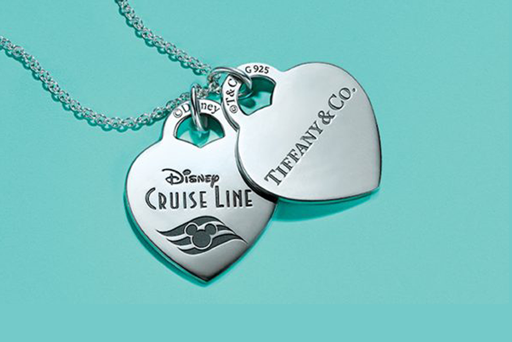 A Tiffany Disney Themed Necklace Launches On board The Disney Cruise Line