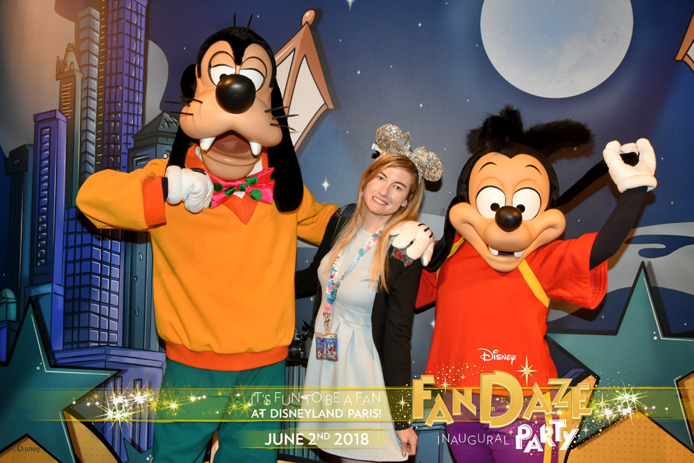 Disney FanDaze Inaugural Party Classic Package