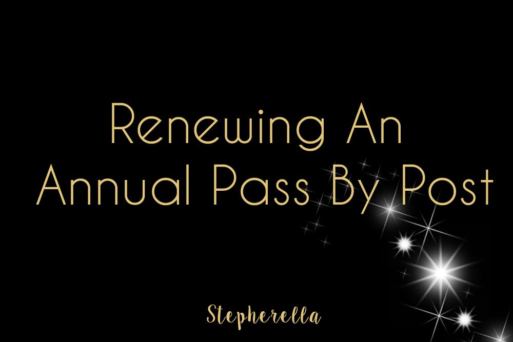 Annual Pass Post Renewal