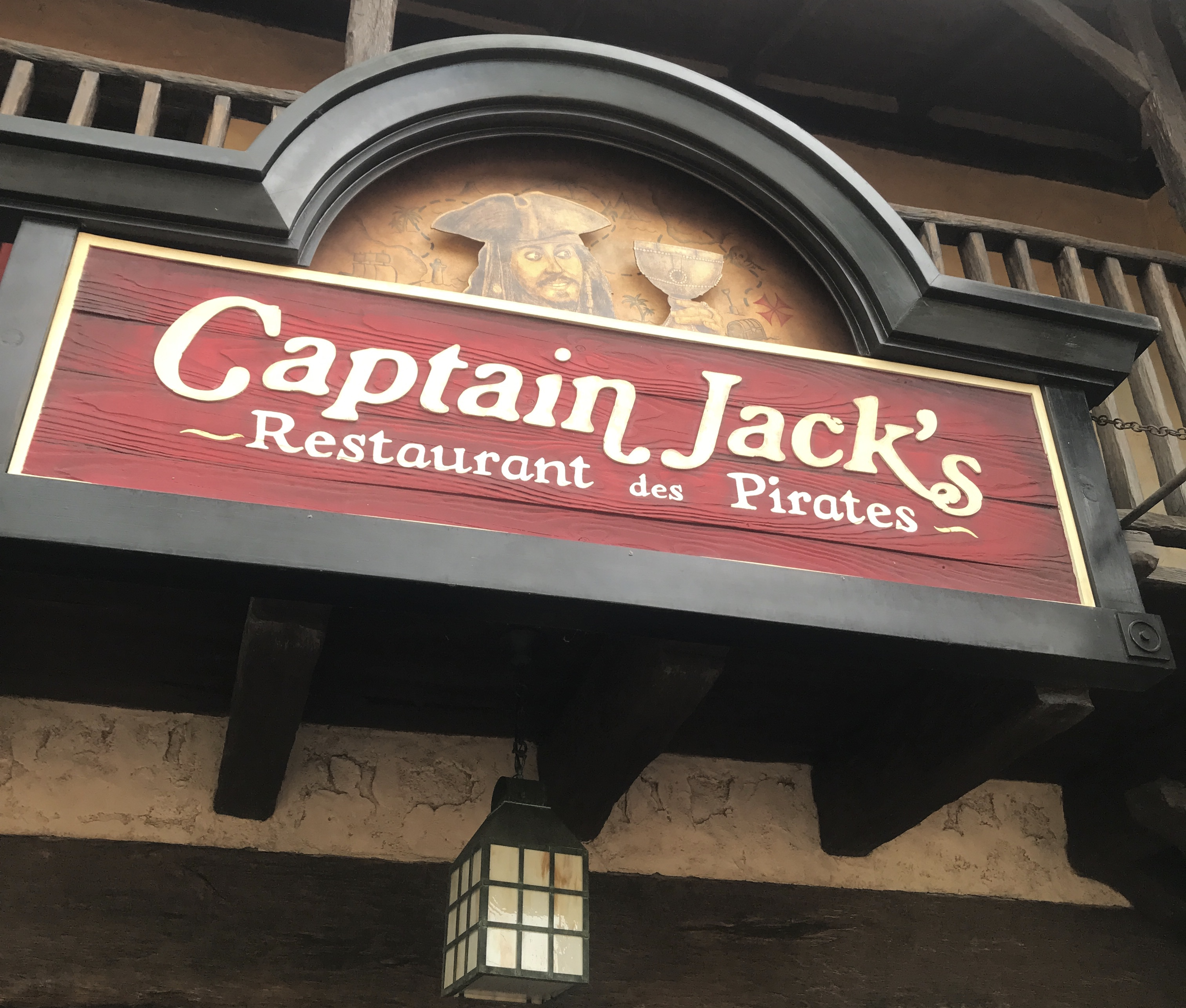 Captain Jack's Restaurant Review – Disneyland Paris