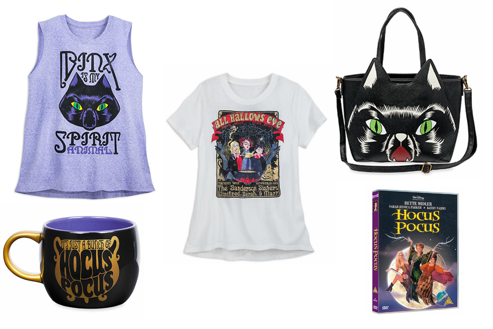 Hocus Pocus Merchandise Launches on shopDisney