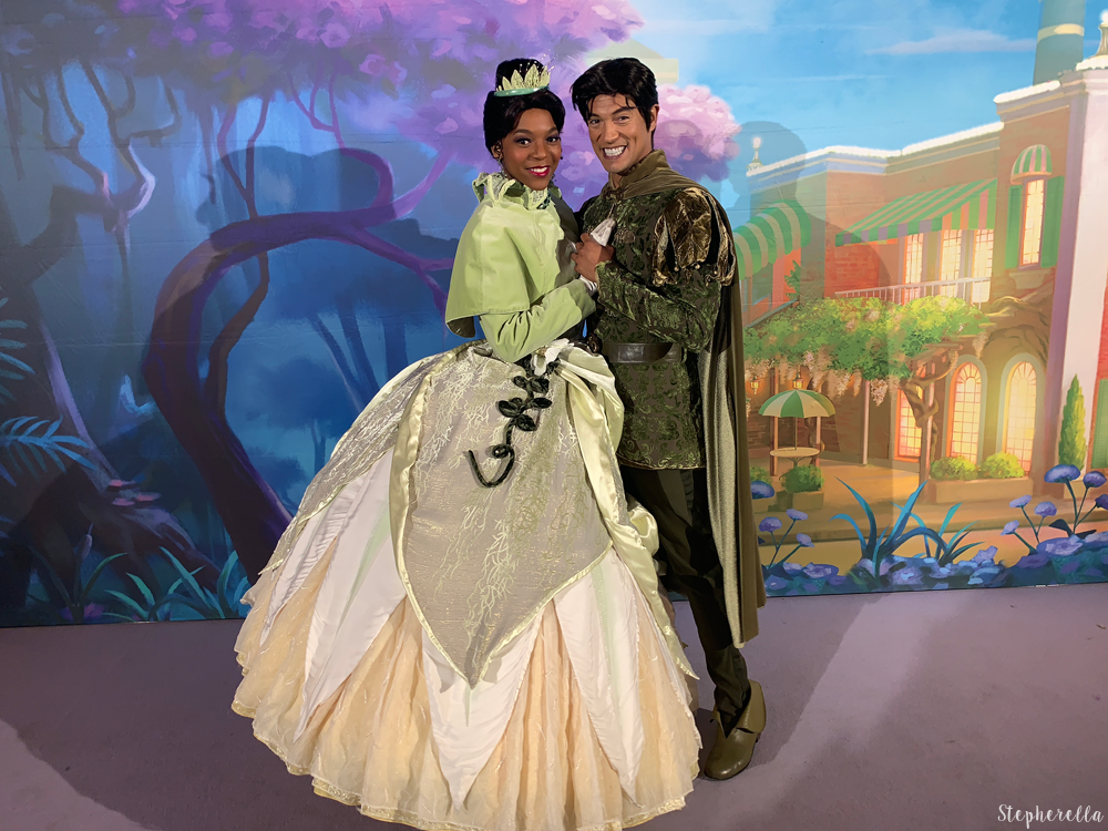 Disney Loves Jazz Disneyland Paris Tiana and Naveen