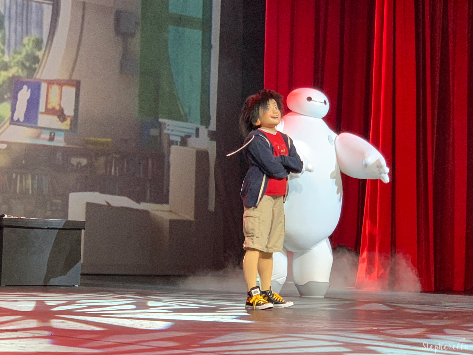 Hiro and Baymax Big Hero 6 Disneyland Paris