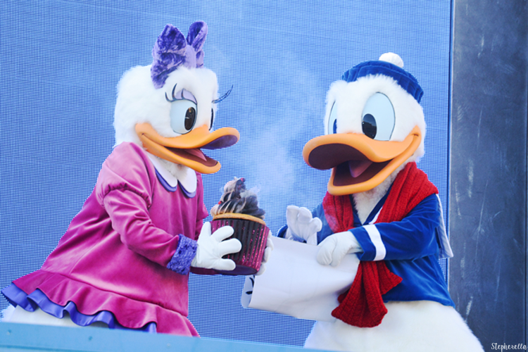 Donald and Daisy Surprise Mickey