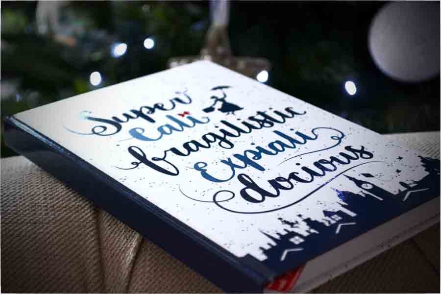 Mary Poppins Notebook Disney