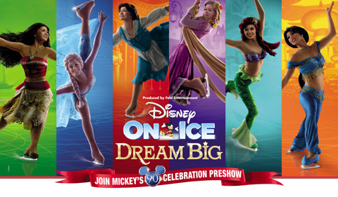 Disney On Ice Dream Big o2 Arena