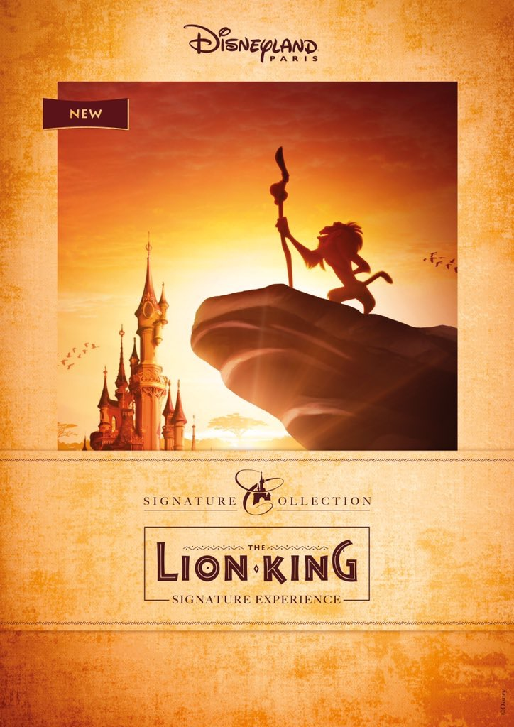 The Lion King Signature Experience Disneyland Paris