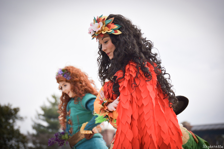 Pirates and Princess Festival Moana and Merida