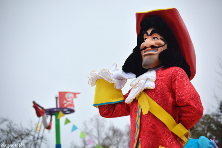 Pirates and Princesses Captain Hook