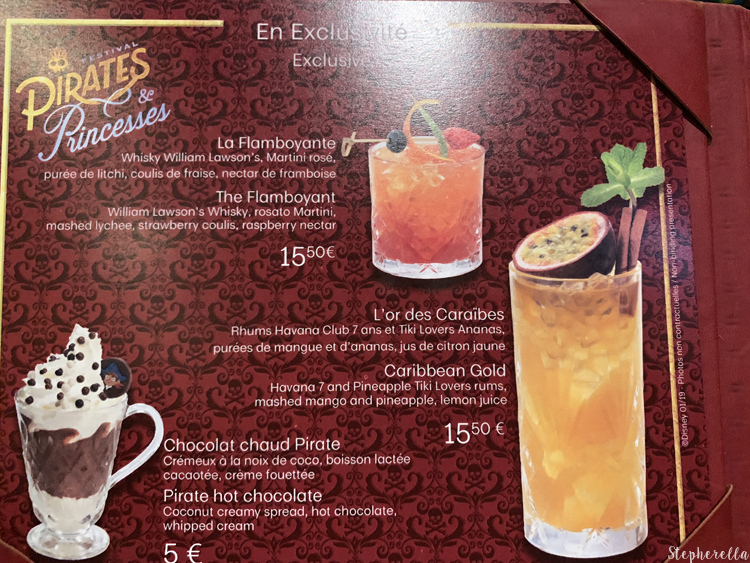 Pirates and Princesses Themed Cocktails
