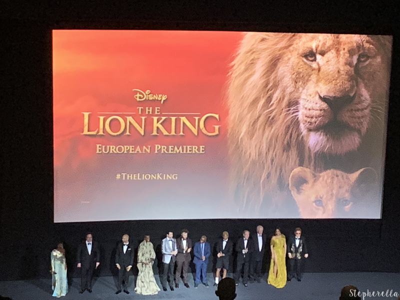 The Lion King Premiere Cast Beyoncé Elton John