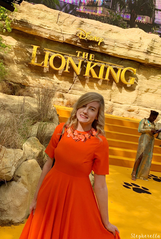The Lion King Premiere Gold Carpet