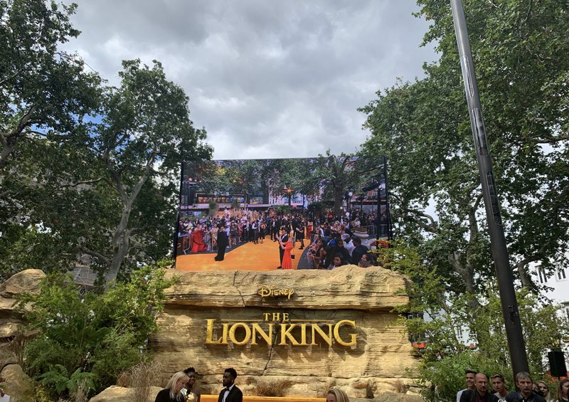 The Lion King Premiere